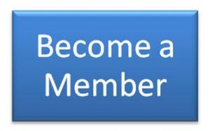 "Blue background with white words that say ""become a member"""